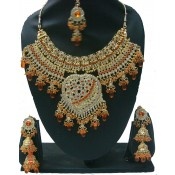 parure  Devasree Orange
